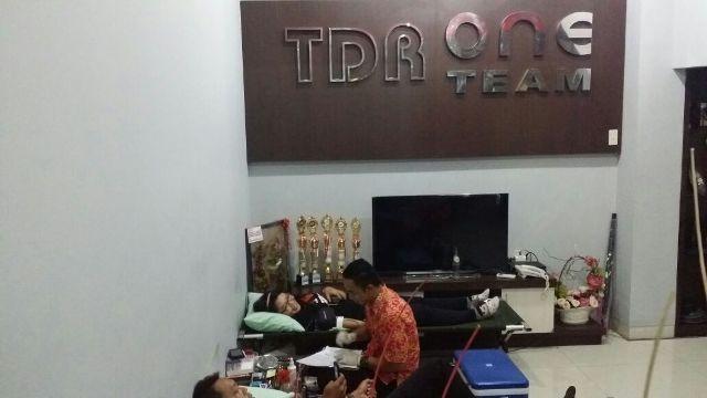 TDR One Team & Optimax Motoworld Berbagi Darah Dihari Sumpah Pemuda
